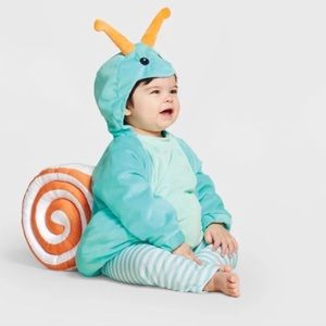Hyde and Eek Snail Costume Size 6-12M  Costume
